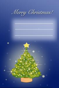 クリスマスツリー(PNG)
